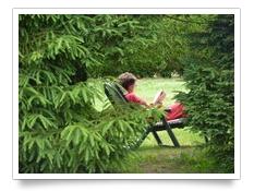 Profitez des espaces disponibles pour vous relaxer